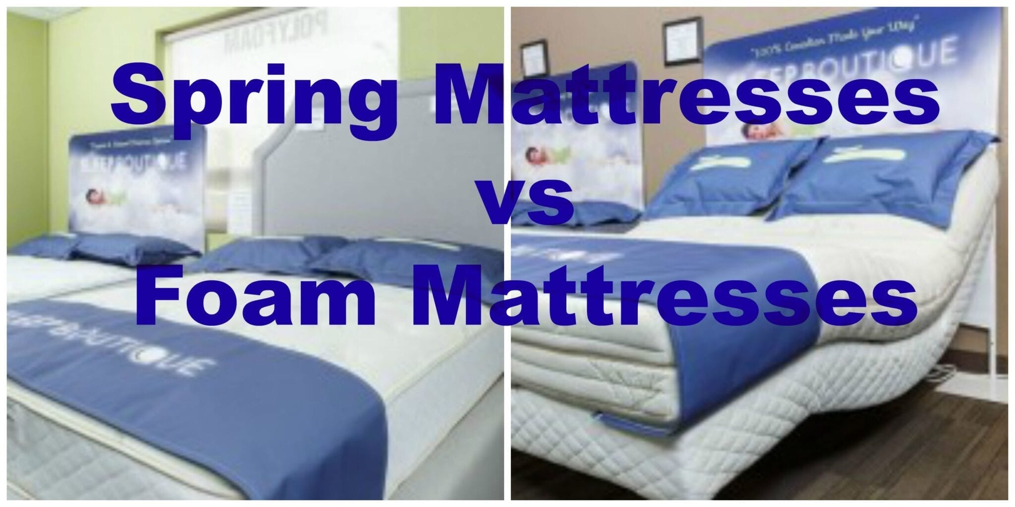 Memory foam vs spring mattress Where to buy mattress foam